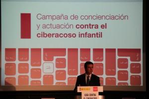 El ministro de Industria, Energía y Turismo, José Manuel Soria, durante su intervención