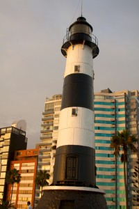 Peru - Lima 115 - Miraflores lighthouse