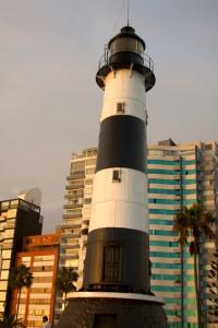 Peru - Lima 115 - Miraflores lighthouse