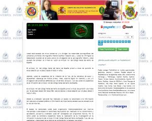 estafa policia 300x239 Nueva estafa que suplanta la identidad de la Policía Nacional